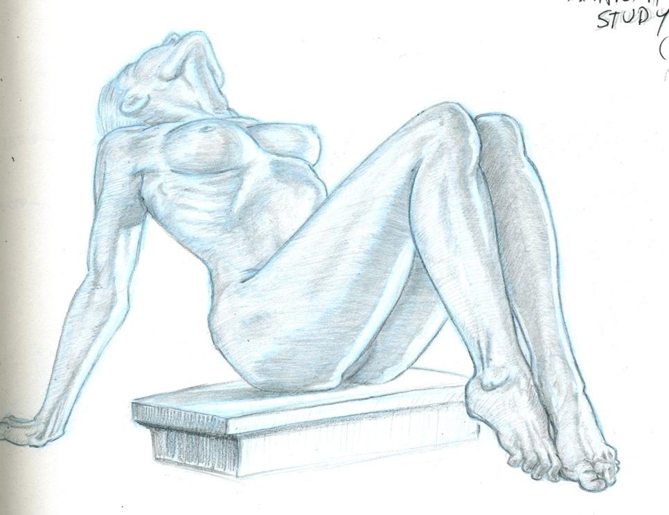 Anatomy Study #1 – Josh Eckert