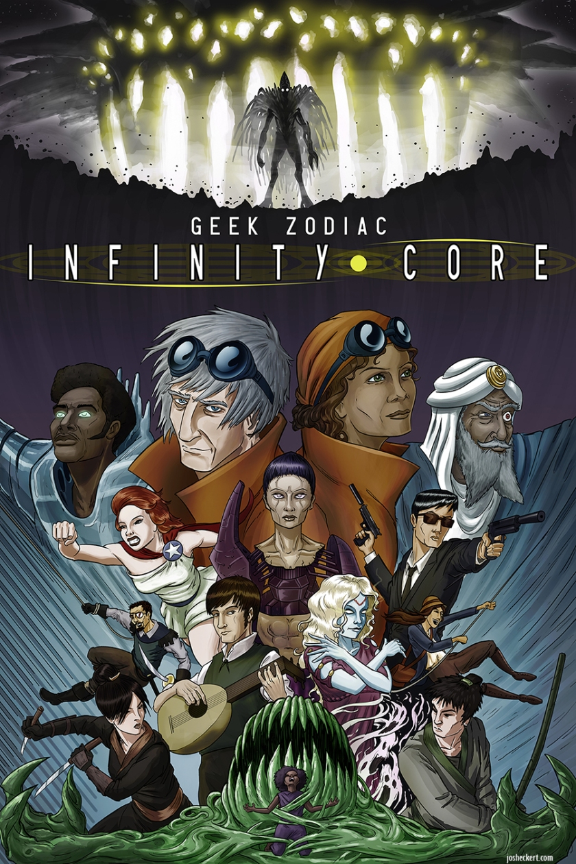 GZ: Infinity Core poster